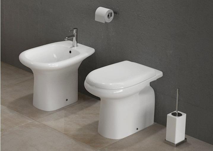 Offerta promozione sanitari a terra serie orient vaso bidet coprivaso arredo bagno - Sanitari bagno offerta ...