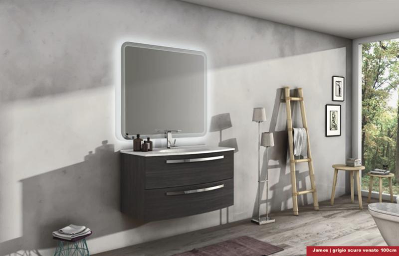 Composizione bagno james 75 arredo bagno mobili bagno mobili