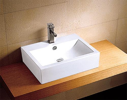 Lavabo Da Appoggio In Ceramica 610x440x145 Arredo Bagno Sanitari E