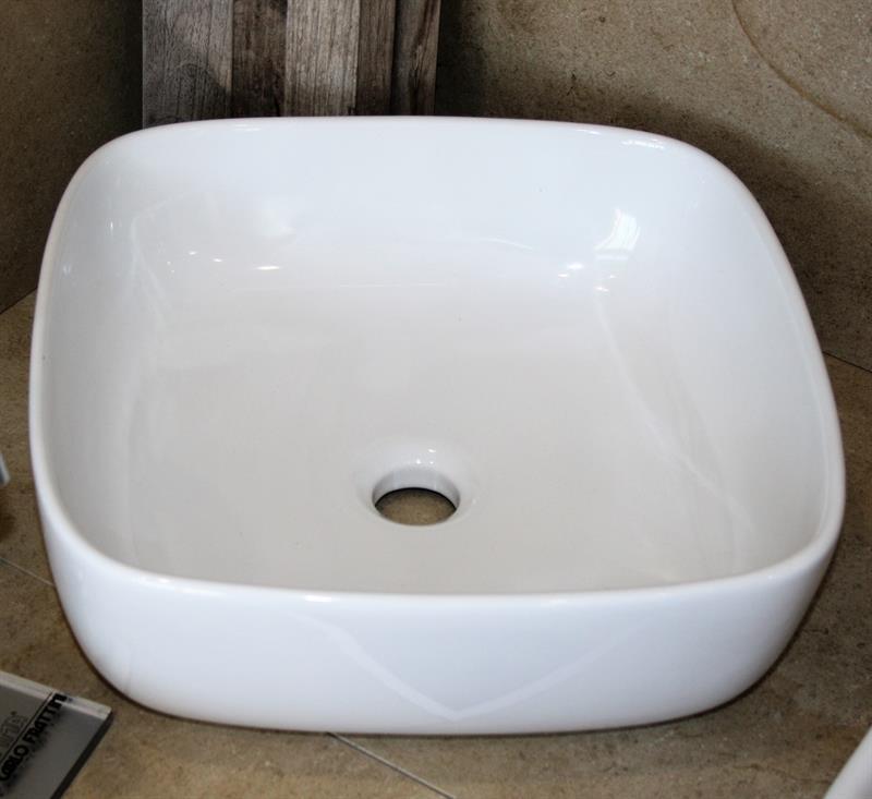 Lavabo Da Appoggio Cm 40x40 Bagno Sanitari E Lavabi Mobili